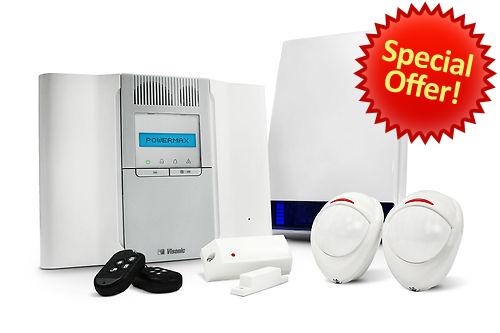 Visonic Powermax Wireless Complete Alarm Kit