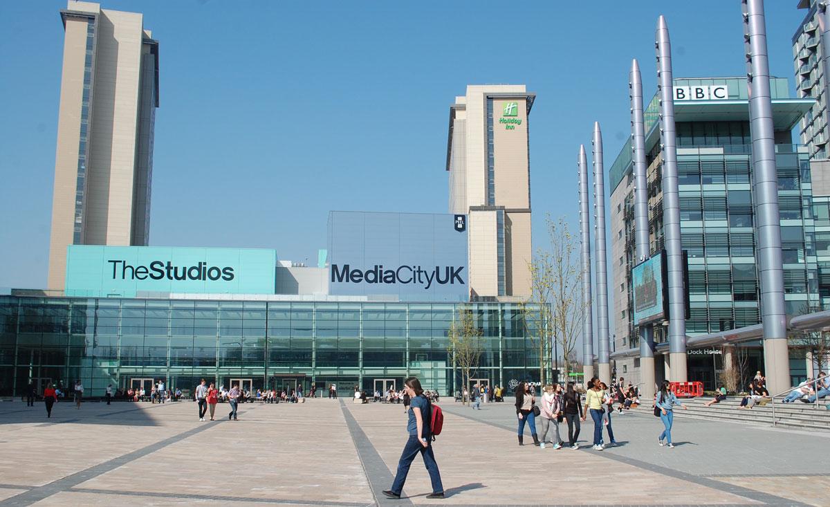 Media City Studios & Carpark